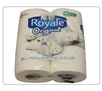 ROYALE BATHROOM TISSUE 4 ROLLS HB 2302